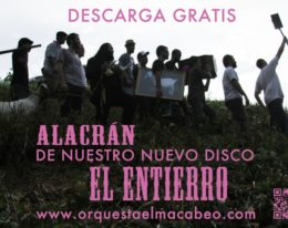 """Nuevo Single de Orquesta el Macabeo – """"Alacrán"""""""
