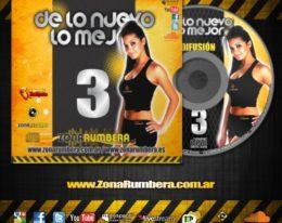En Breve! Lanzamiento del Vol. 3 De lo Nuevo lo Mejor by Zona Rumbera!