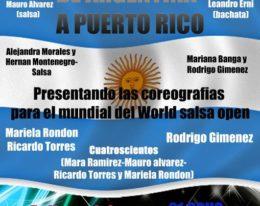 De Argentina a Puerto Rico! Segunda Fiesta! Mar del Plata – 14 de Julio!