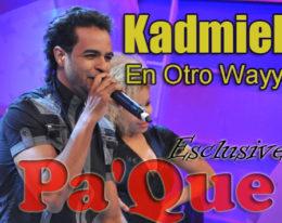 """Lo nuevo de Kadmiel """"En otro way pa que"""""""