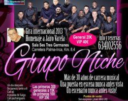 Grupo Niche en Concierto! Palma de Mallorca! 23 de Marzo!
