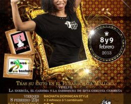Evelyn La Negra en Palma de Mallorca 8 y 9 de Febrero