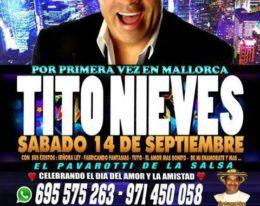 Tito Nieves en Palma de Mallorca! 14/09/13!