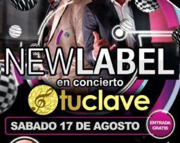 New Label y K-One en concierto – Noche de Salsa y Electro Latino 17 de Agosto Palma de Mallorca