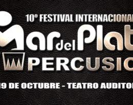 10° Festival Internacional Mar del Plata Percusión – Octubre de 2013