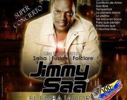 Por 1º Vez y en EXCLUSIVA llega a MALLORCA!! Jimmy Saa en CONCIERTO! 16/11
