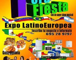 Preparate … Muy Pronto 1º Fiesta Expo Latino Europea !