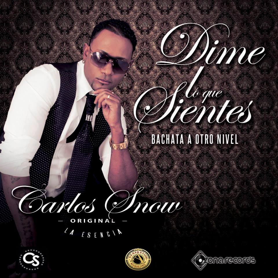 Carlos Snow Portada Single Dime lo que sientes