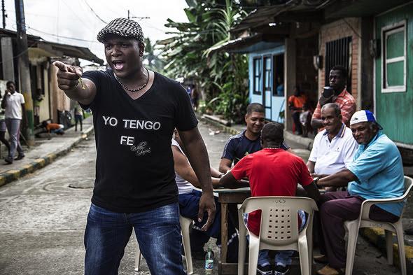 Willy Garcia en el video YO TENGO FE