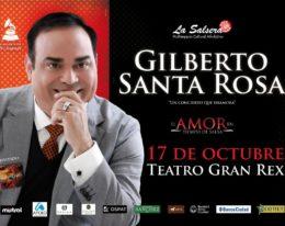 Gilberto Santa Rosa en Vivo Buenos Aires! 17/10