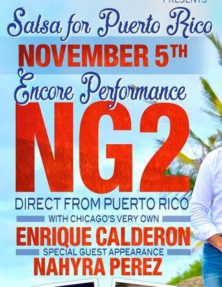 Salsa 4 Puerto Rico! 4 de Noviembre! Chicago!