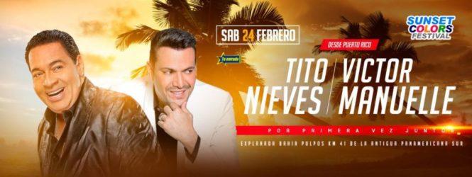 Víctor Manuelle y Tito Nieves llenarán de salsa las playas del sur
