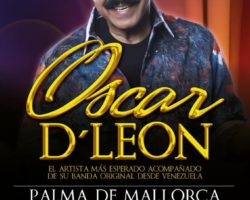 Oscar D Leon en Mallorca!