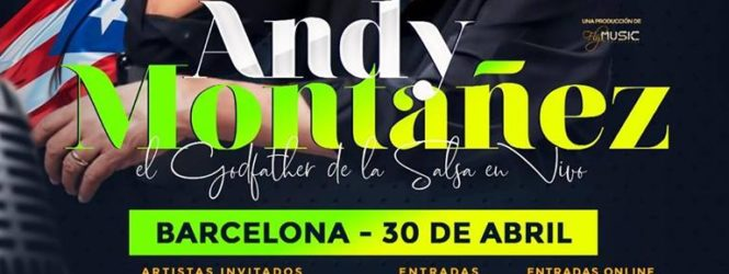 Tromboranga con Andy Montañez! Barcelona y Madrid!