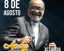 8 de Agosto Andy Montañez en Medellin! Feria de las Flores!