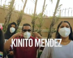 Kinito Méndez relanza «Cachamba» estilo COVID-19